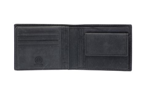 Кожаный бумажник Klondike 1896 «Yukon black», 9 отделений, Germany, фото 6