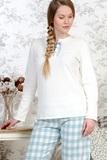 Теплая женская пижама Le Chat