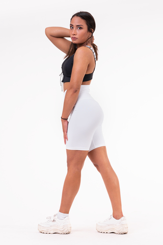 Женские велосипедки Nebbia high waist Road Hero biker shorts 683 white