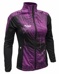 Лыжная разминочная куртка Ray Pro Race WS Violet Print женская