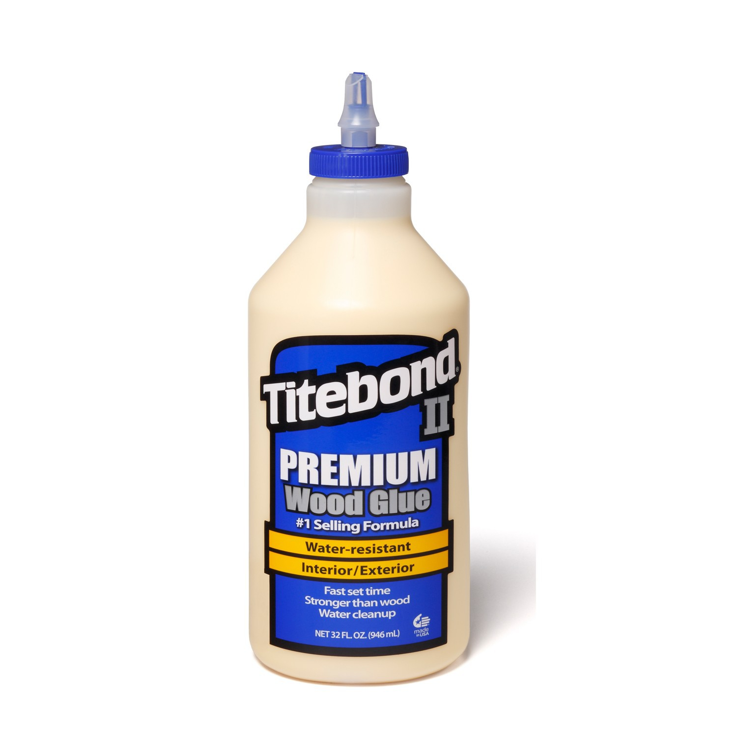Профессиональный влагостойкий клей для дерева Titebond II Premium Wood Glue 946мл