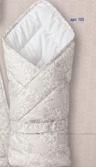 Sdobina. Одеяло-конверт с чепчиком и пояском