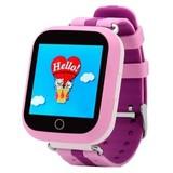 Детские Smart часы Q750 c GPS трекером и Wi-Fi (Розовый)