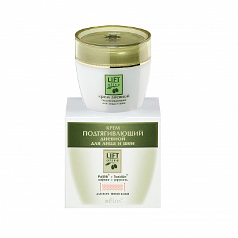 Белита Lift-Olive Крем подтягивающий дневной для лица и шеи 50мл