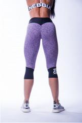 Женские капри Nebbia High waist ¾ leggings 607 purple