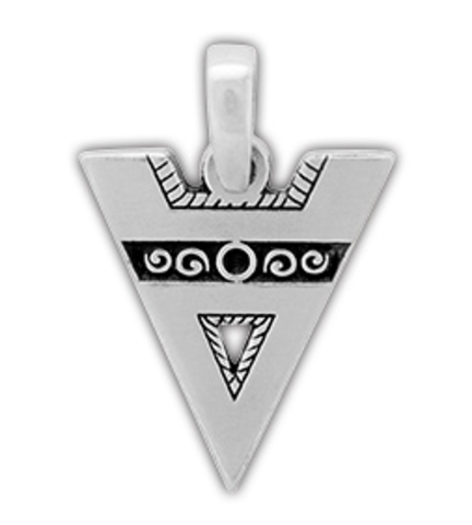 Амулет защитный Велес, олово