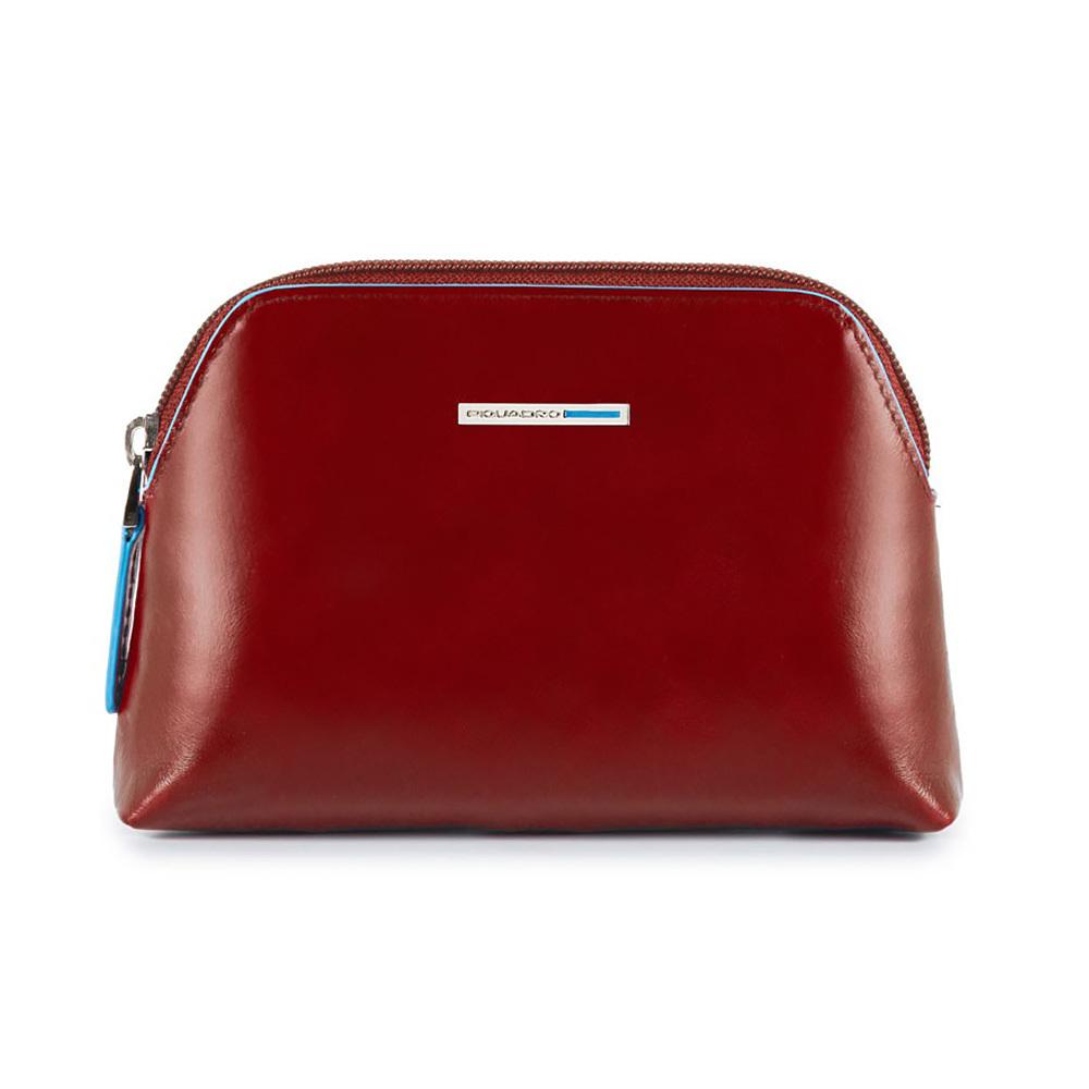 Косметичка Piquadro, цвет красный, 16x10,5x4 см (BY3793B2/R)