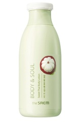 Лосьон для тела с экстрактом мангостина, персика и маслом жожоба. Body and Soul Sweet Thai body lotion