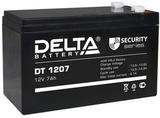 Аккумулятор Delta DT 1207 ( 12V 7Ah / 12В 7Ач ) - фотография