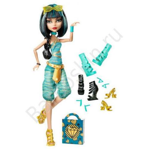 Кукла Monster High Клео де Нил (Cleo de Nile) - Обожаю обувь!