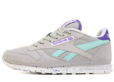 Кроссовки Женские Reebok Classic Leather Grey Turquoise