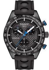 Мужские швейцарские наручные часы Tissot T-Sport PRS 516 T100.417.37.201.00