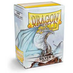 Dragon Shield - Серебряные матовые протекторы 100 штук