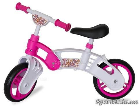 Беговел Small Rider 2014 бело-розовый