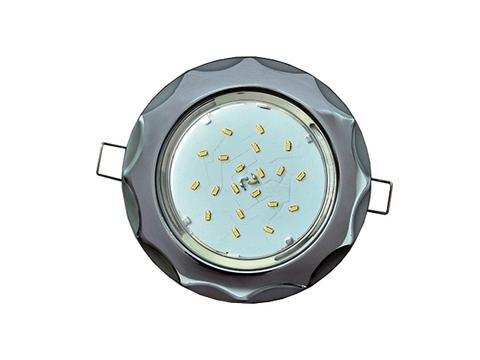 Ecola Светильник GX53 H4 Звезда хром/серебро