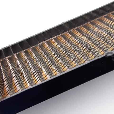 """Ресницы для наращивания NOVASEСRET ultimate черные, 3-D (w-тип), изгиб """"CC mix"""""""