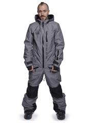 COOL ZONE KITE мужской сноубордический комбинезон серый меланж
