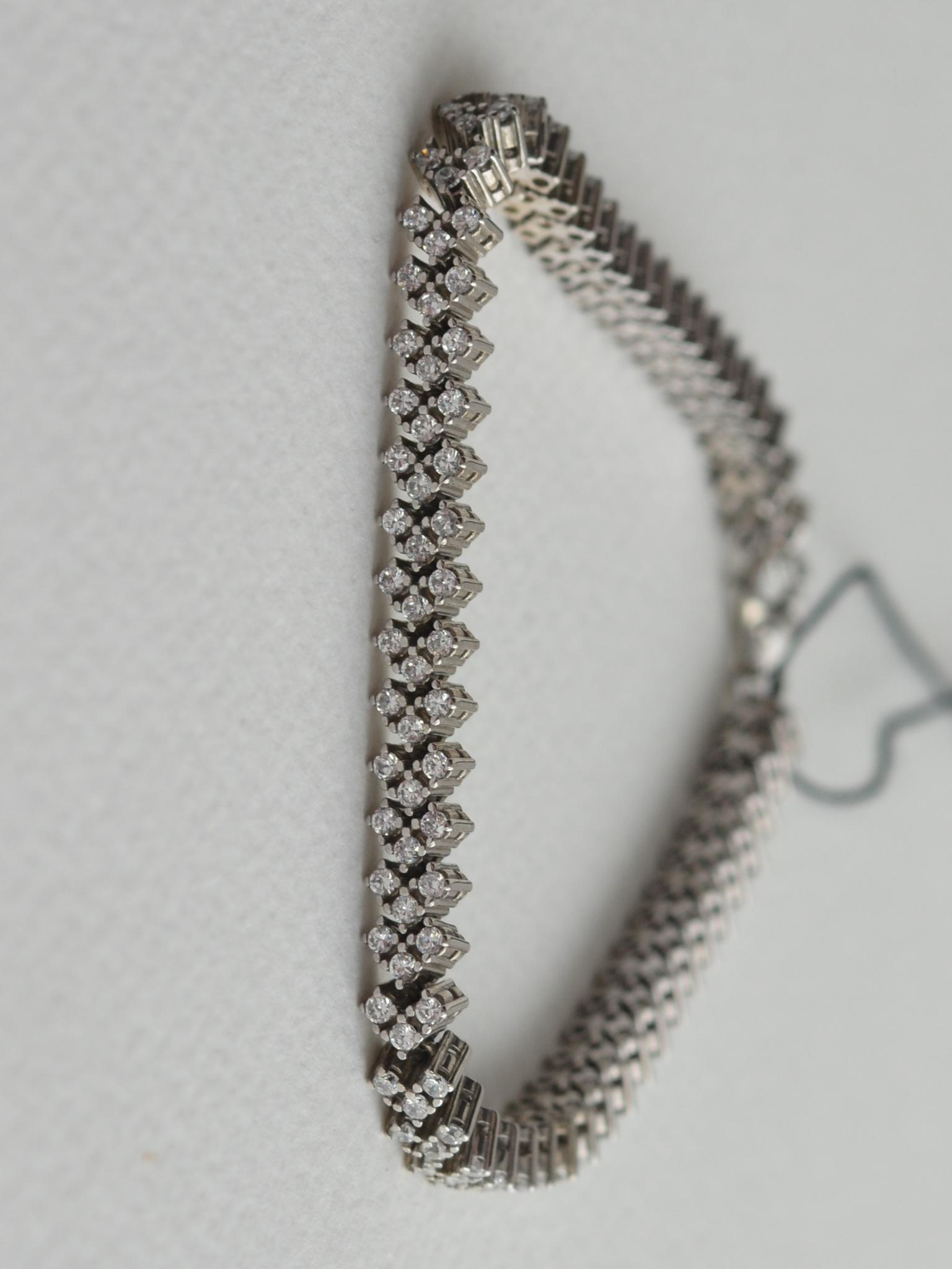 Терри (серебряный браслет)