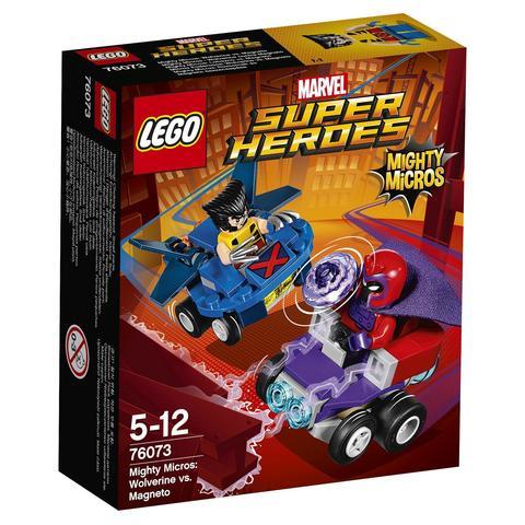 LEGO Super Heroes: Mighty Micros: Росомаха против Магнето 76073 — Wolverine vs. Magneto — Лего Супергерои Марвел