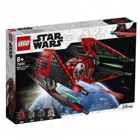LEGO Star Wars: Истребитель TIE майора Вонрега 75240 — Major Vonreg's TIE Fighter — Лего Звездные войны Стар Ворз