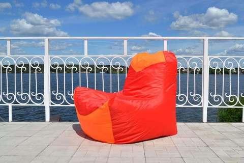 Кресло-мешок «Классическое» Красно-оранжевое