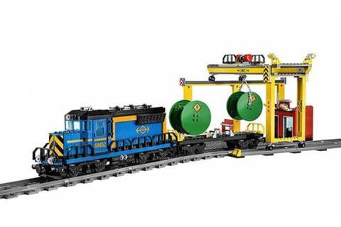 Конструктор LEPIN Train Series Грузовой поезд 02008