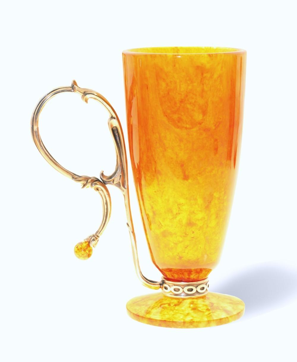 Янтарный бокал для пунша от 15 030 руб