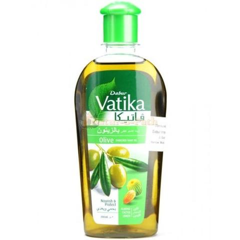 Масло для волос Dabur Vatika обогащенное оливой, 200 мл