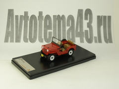 1:43 Jeep Willys 1953