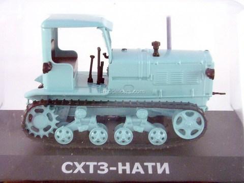 Tractor SHTZ-Nati 1:43 Hachette #9