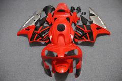 Комплект пластика для мотоцикла Honda CBR 600 RR 03-04 Красно-Черный Серый плуг