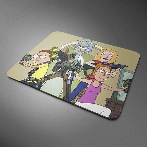 Коврик для мыши с Морти, Риком, Бет и Саммер