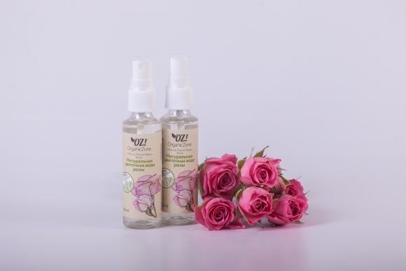 Цветочная вода розы (OrganicZone)