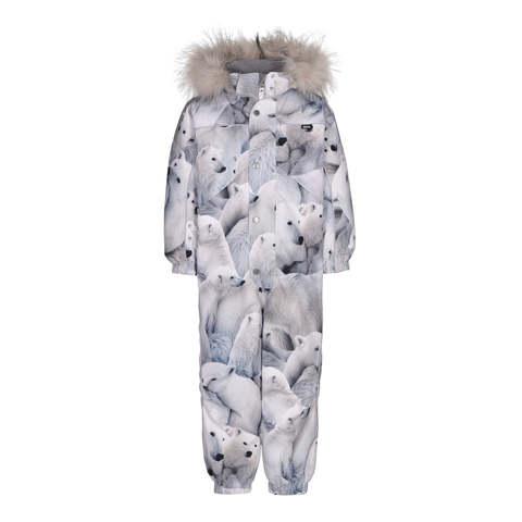 Комбинезон Molo Polaris Fur Polar Bear купить в интернет-магазине Мама Любит!