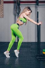 Женские леггинсы Nebbia 222 green