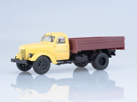 ZIS-150 flatbed truck beige-brown 1:43 Our Trucks #10