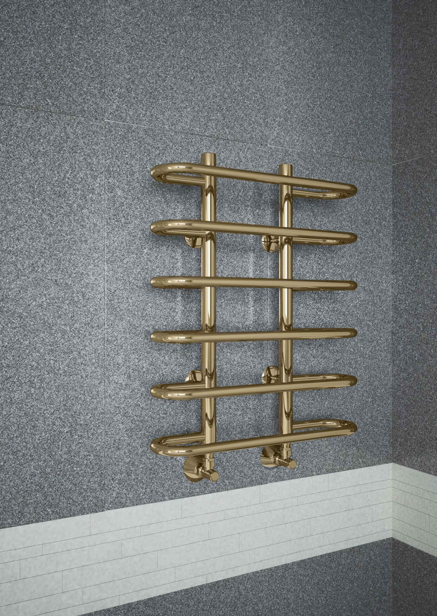 Sahara Bronze - бронзовый полотенцесушитель с закругленными перекладинами. Бронза.