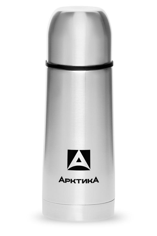 Термос Арктика (0,35 литра) с узким горлом классический, стальной