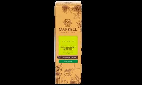 Markell Bio-Helix Крем-комфорт для лица дневной с муцином улитки для сухой и нормальной кожи 50мл