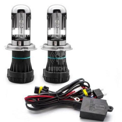 Биксеноновые лампы H4H/L 6000K