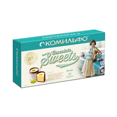 Набор конфет Комильфо двухсл.начин.116г