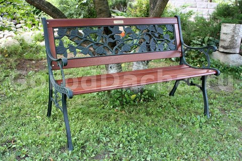 Скамейка садовая чугунная 403