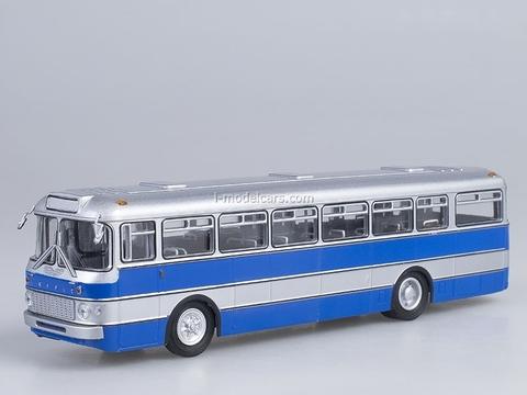 Ikarus-556 silver-blue Hungary Soviet Bus 1:43