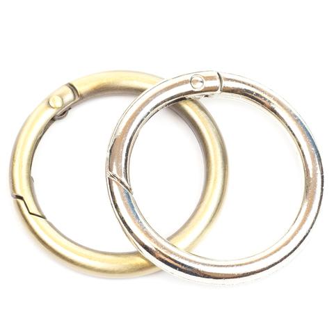 Карабин-кольцо 31мм  (цвет на выбор)
