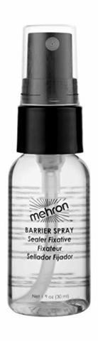 MEHRON Водостойкий закрепитель макияжа Barrier Spray, 30 мл
