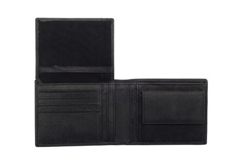 Кожаный бумажник Klondike 1896 «Yukon black», 9 отделений, Germany, фото 3