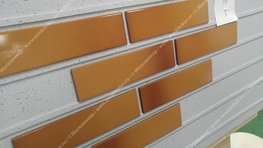 Облицовочная клинкерная плитка Cerrad, Miodowa, szkliwiona, new, 245x65x6.5