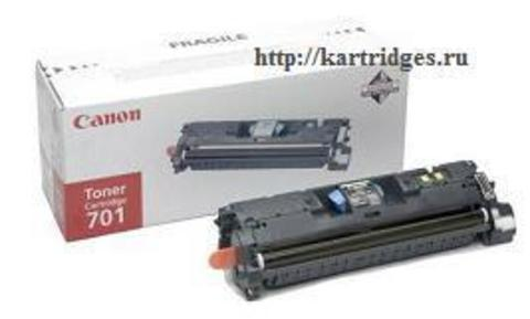 Картридж Canon Cartridge 701Bk / 9287A003