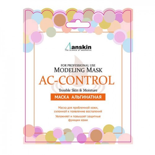 Anskin Original Маска альгинатная для пробл.кожи, акне (саше) 25гр  AC Control Modeling Mask / Refill 25гр