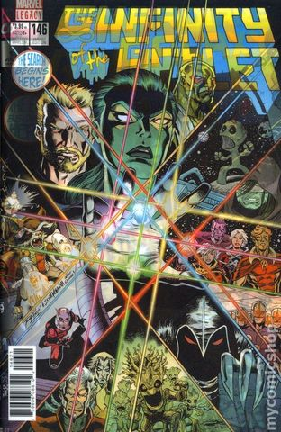 Guardian of the Galaxy #146 Lenticular Cover